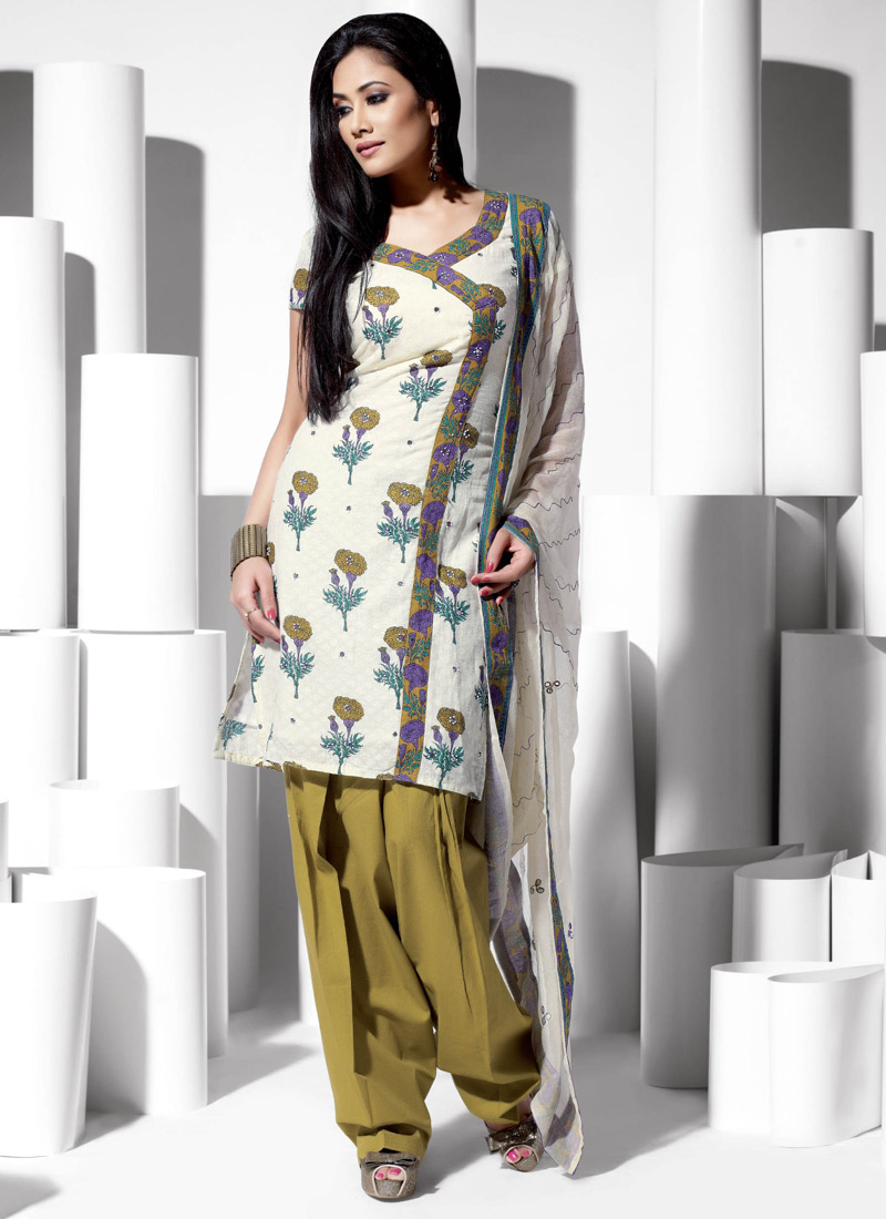 dress style salwar suit