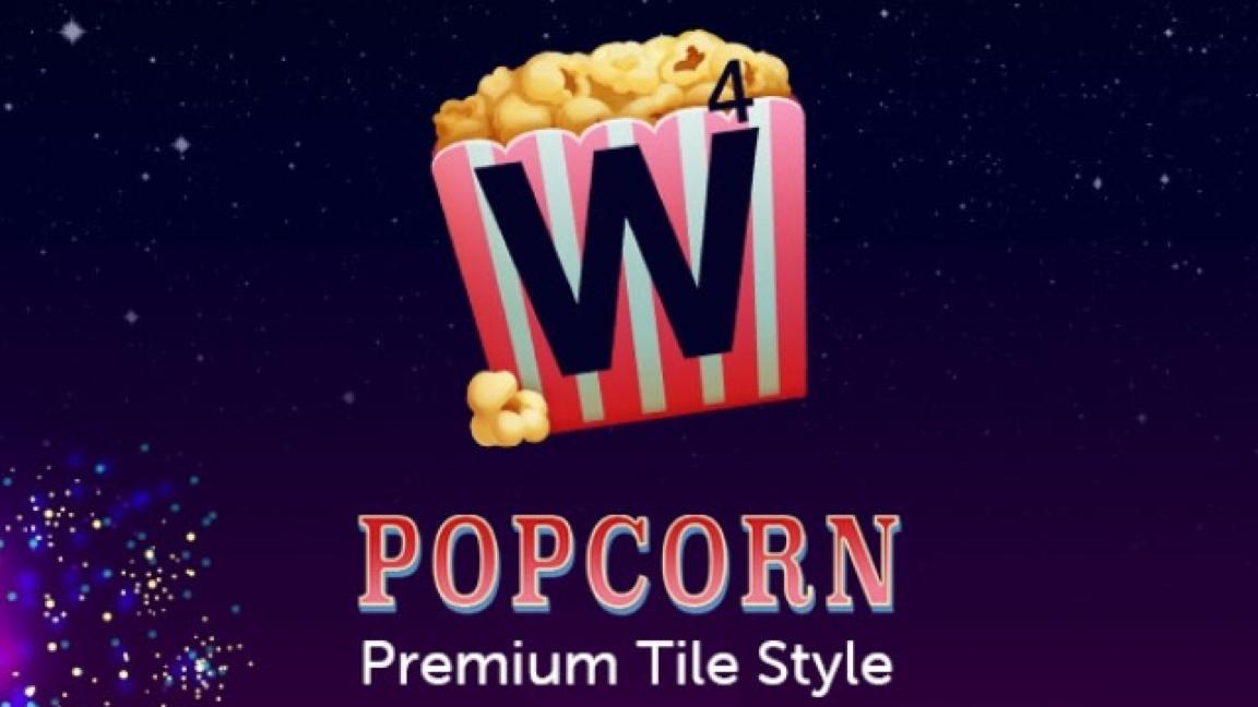Popcorn Premium Tile Style