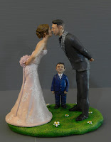 statuine torta matrimonio bambino realistiche lombardia orme magiche