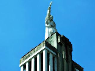 Imagem na Torre da Igreja São Geraldo, Porto Alegre