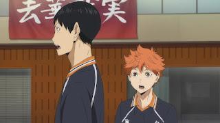 ハイキュー!! アニメ 2期18話 日向翔陽 影山飛雄 | HAIKYU!! Karasuno vs Wakutani minami
