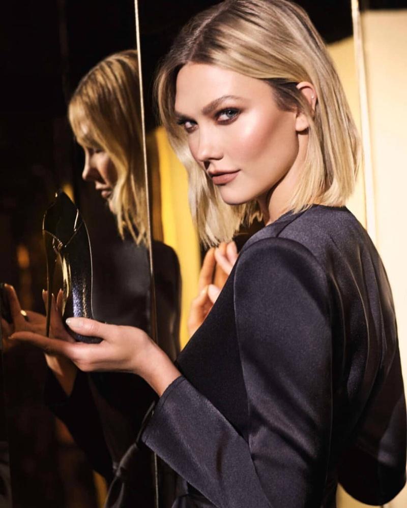 Karlie Kloss stars in Carolina Herrera Good Girl Supreme fragrance campaign.