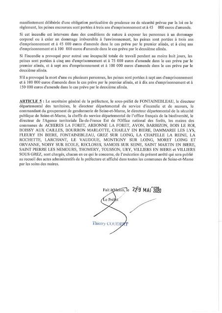 Arrêté Préfectoral 2020/DDT/SEPR/95