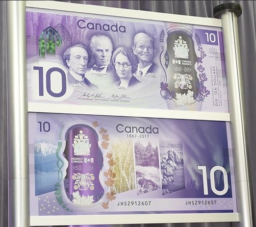Some Interesting Facts About Paper Money: Canada unveiled ...