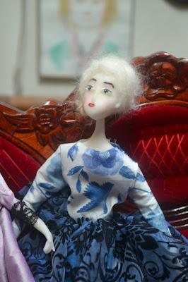 dolls petits moi cernit dolls poupée art dolls