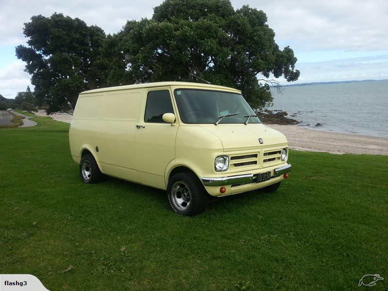Bedford CF2 Van: For sale: Restored Bedford CF1 V8 - New Zealand