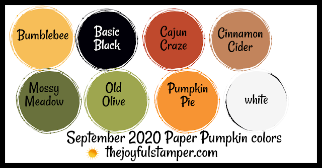 color inspiration, color combination, stampin' up! colors, september 2020 paper pumpkin subscription monthly stamp kit colors, stamp clubs, handmade cards, handmade home decor, handmade treat packaging
