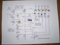 36V Battery Level Indicator Circuit Diagram