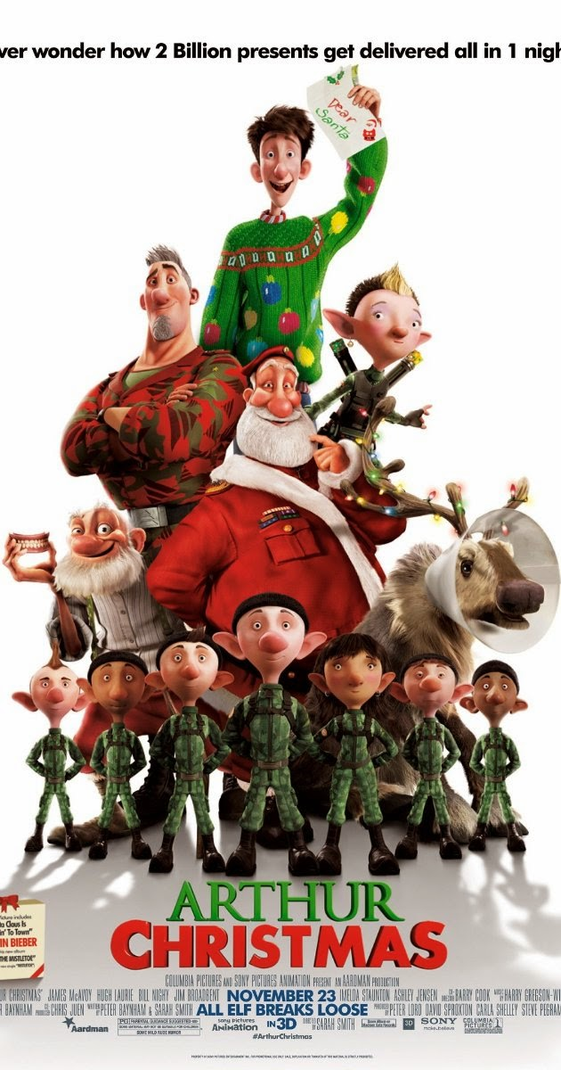 Watch Arthur Christmas (2011) Online For Free Full Movie English Stream
