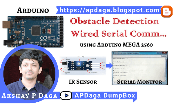 #3 Arduino Mega: Obstacle detection / People counter using IR Sensor