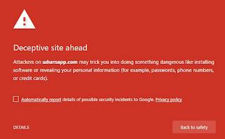Hati-hati Ransomware ini menyamar sebagai Halaman Web WhatsApp