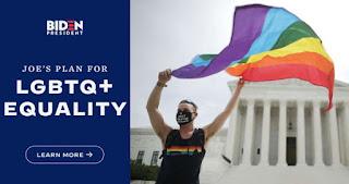Janji 100 Hari Biden Jika Menang Pemilu: Sahkan UU Kesetaraan Bagi LGBTQ & Mempromosikannya