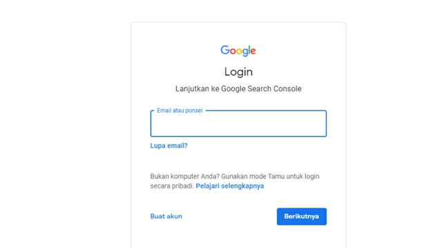 tutorial blog email google terindex