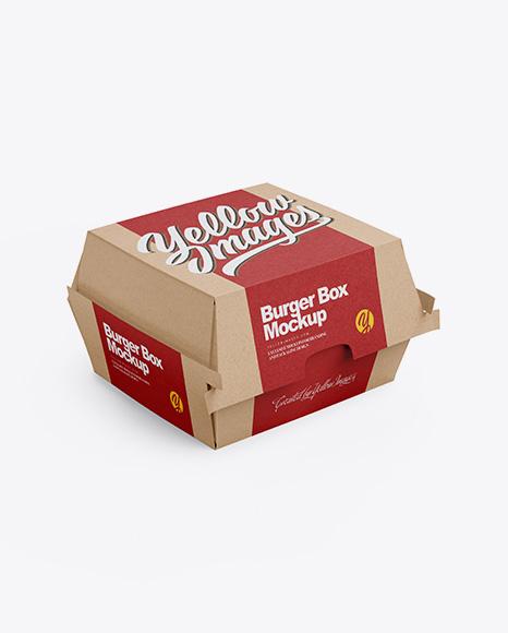 Download 60+ Best Burger Box Mockup Templates | Free & Premium