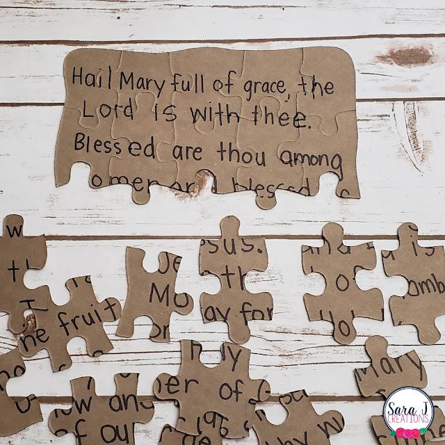 Memorizing prayers with Catholic Prayer Puzzles