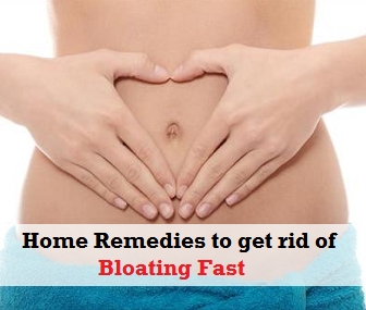 Home Remedies to get rid of Bloating fast
