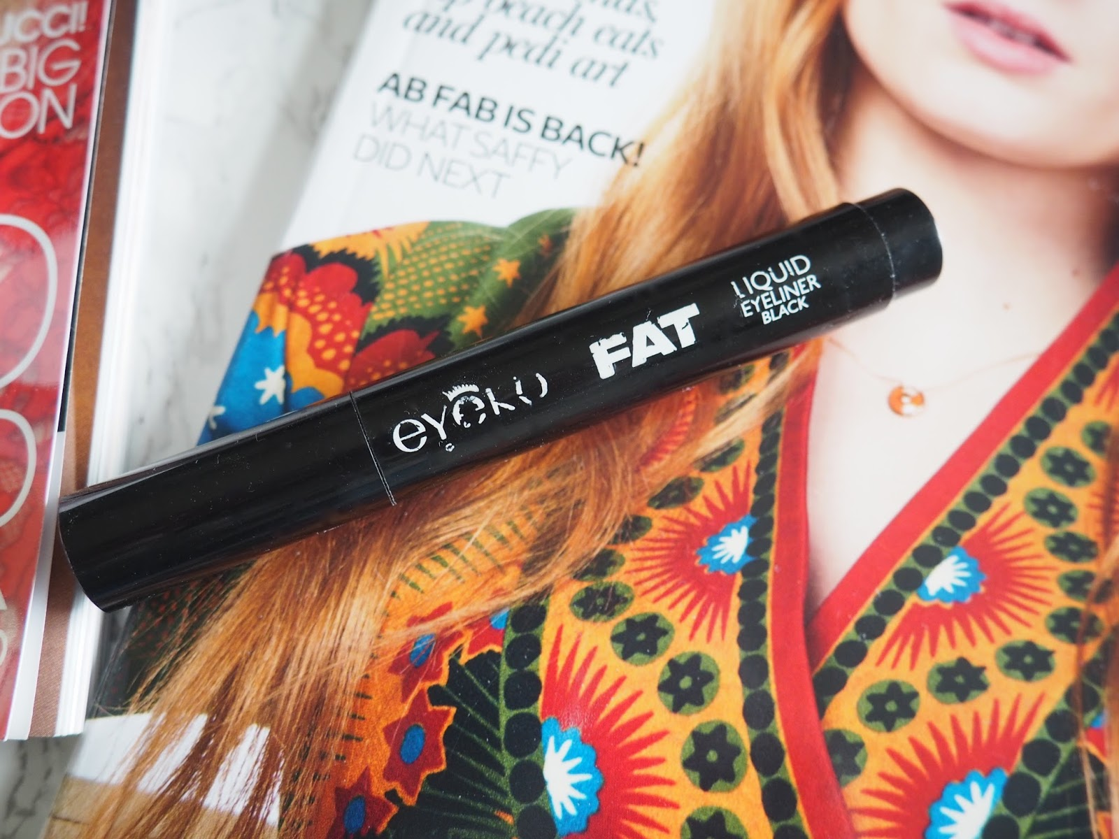 Instyle Eyeko fat liquid eyeliner eyes makeup