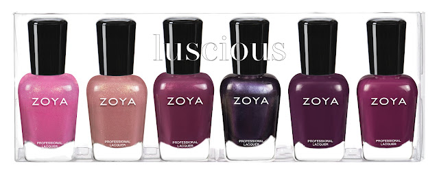 Zoya Fall 2020 Luscious Collection Sampler A