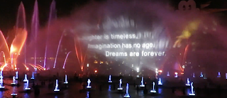 World of Color Celebrate Dreams Are Forever Quote