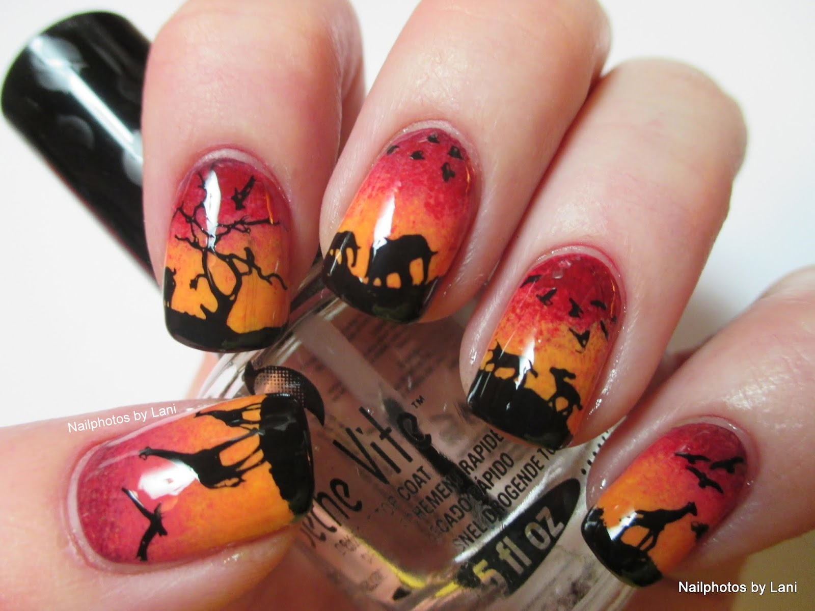 Image result for protect wildlife nail art