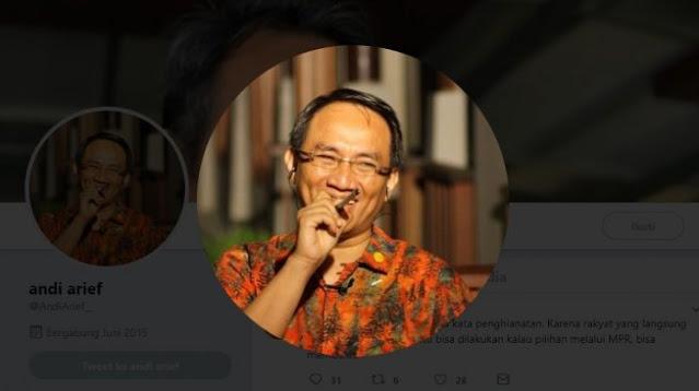 Tanggapi KLB, Andi Arief: Apa Presiden Bisa Dimakzulkan oleh DPR Gadungan?