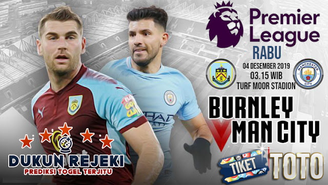 Prediksi Burnley vs Manchester City 04 November 2019