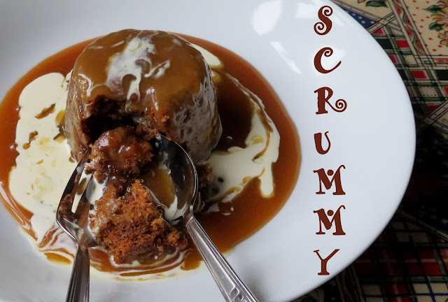 Baby Sticky Toffee Pudding Cakes