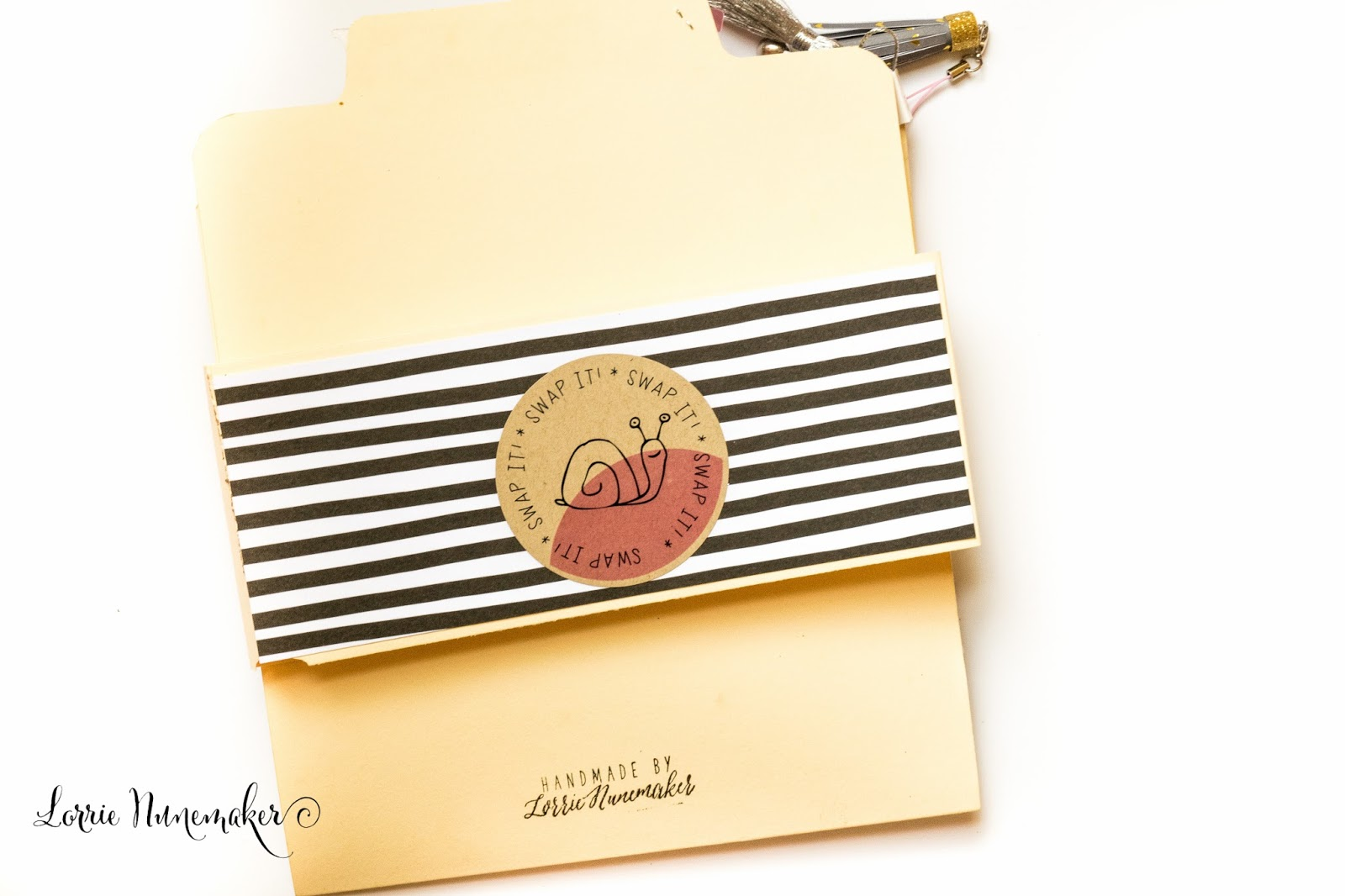 Lorrie's Story: File Folder Flip Book