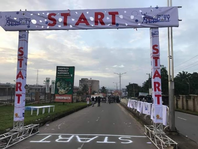 Onitsha City Marathon Starts Today (photos)