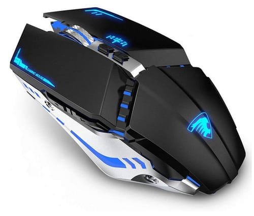 TENMOS T21 Rechargeable Silent Computer Gaming Mouse