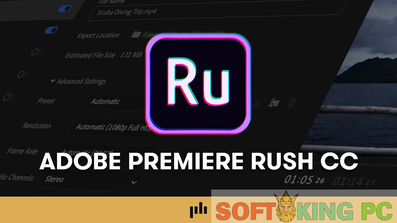 Adobe Premiere Rush CC 2019 Full Version Free Download