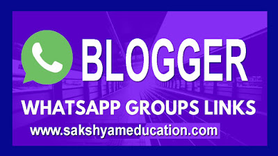 Join Blogger-WhatsApp group links