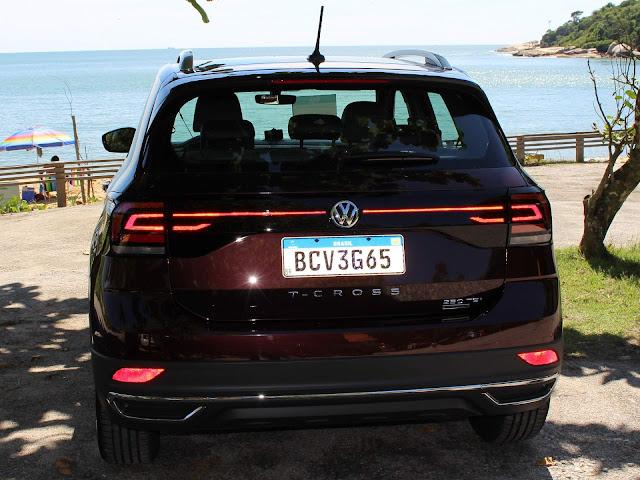 Volkswagen T-Cross - 3º carro mais vendido do Brasil