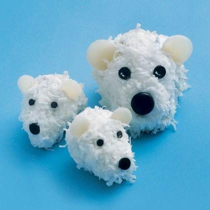 Polar Bear Cubcakes Recipe
