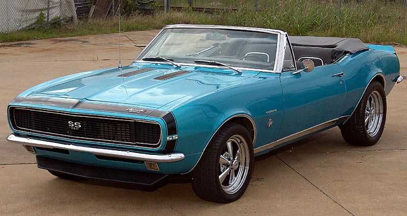 all about muscle car 1967 camaro ss convertible. Black Bedroom Furniture Sets. Home Design Ideas