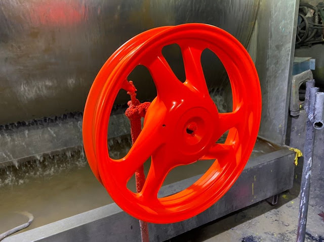 Mẫu sơn mâm màu cam dạ quang lấy nhanh trong ngày tại TP.HCM