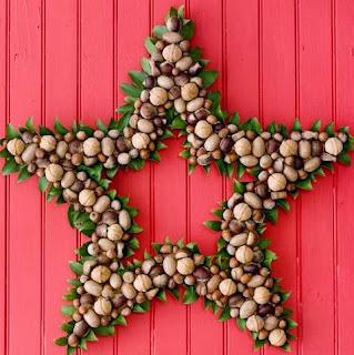 http://manualidadesnavidad.org/estrella-navidena-frutos-secos/