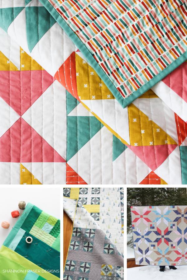 Best of 2018 quilts - Shannon Fraser Designs