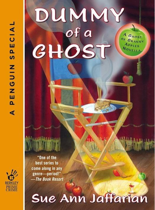 Guest Blog by Sue Ann Jaffarian - Gobsmacked by a Ghost - March 4, 2014