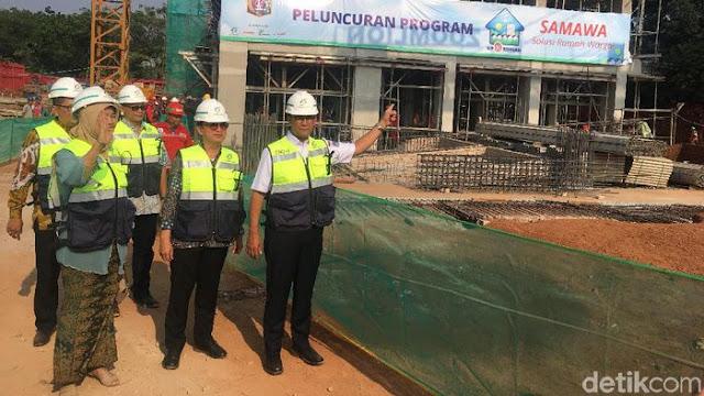 Serah Terima Rumah DP Rp 0 DKI Dimulai Juli 2019