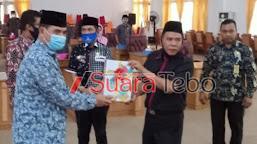 Rapat Paripurna DPRD Tebo, Sukandar; Perlu Saran dan Masukan Demi Tebo Tuntas 2020