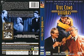 Carátula Dvd de Vivie como quieras 1938.