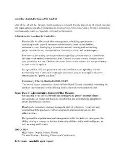 HR Administrative Assistant Job Description Template