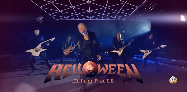 """Helloween divulgam um """"teaser"""" do novo single """"Skyfall"""""""