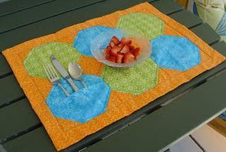 eat with joy placemat sewjoycreations