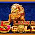 BOCORAN SLOT 5 LION GOLD DI PRAGMATIC PLAY