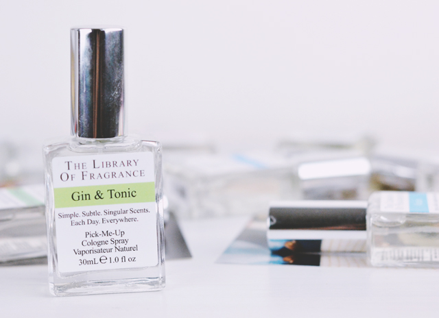 The Library of Fragrance Gin & Tonic Review