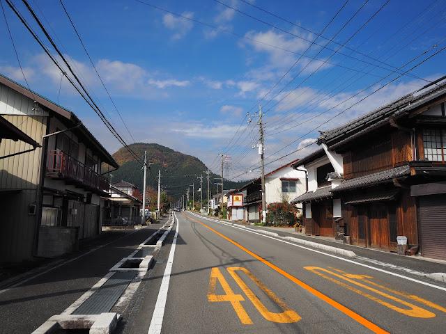 中山道 坂本宿