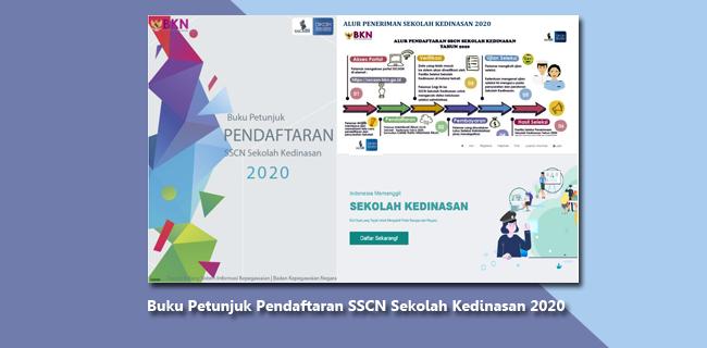 Buku Petunjuk Pendaftaran SSCN Sekolah Kedinasan 2020