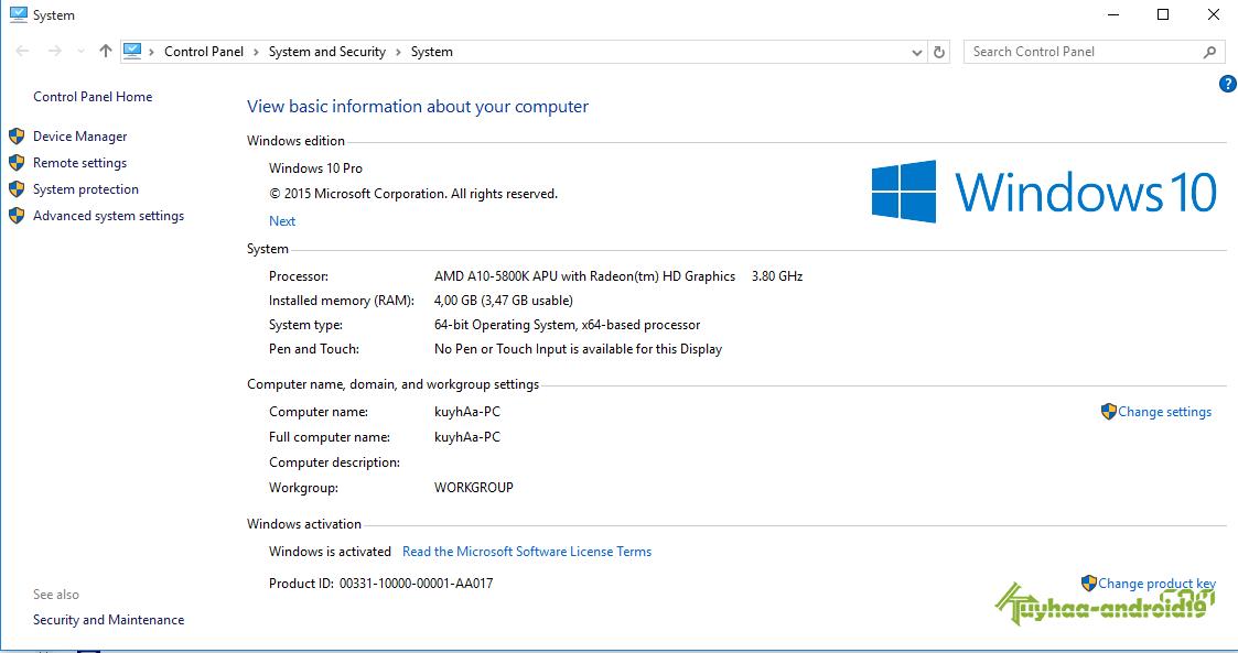 Windows 10 Full Activated